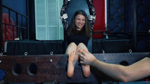 Bdsm Most Popular Masha returns on ticklish test in stocks