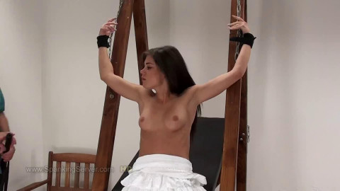 Super tying, domination and spanking for very pretty hotty HD 1080p