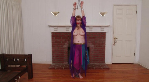 BigTit Barefoot Harem Slave in Stocks Chains and Manacles - Lorelei  Part 2