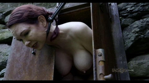 Hard restraint bondage, strappado and castigation for sexy wench part 2 HD 1080p