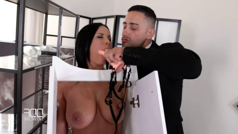Super tying, domination and suffering for bare bitch part 1
