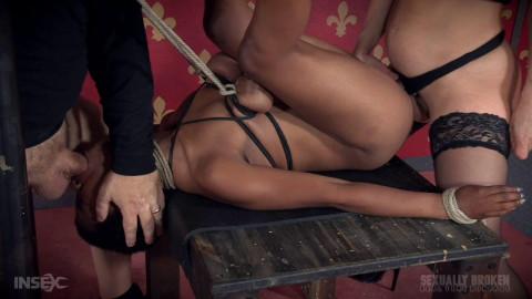 Tiny Slut Kahlistas Fucked On Table