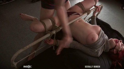 Penny Lay loses her virginity in bondage!