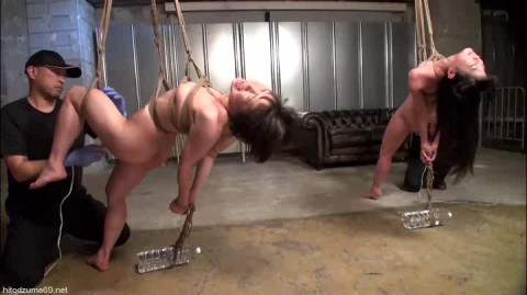 Restraint Training For Asian Slaves