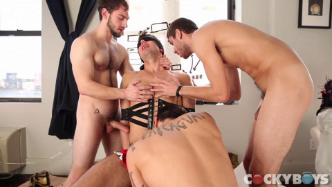 Dillon Rossi, Levi Karter, Bravo Delta, Chris Harder