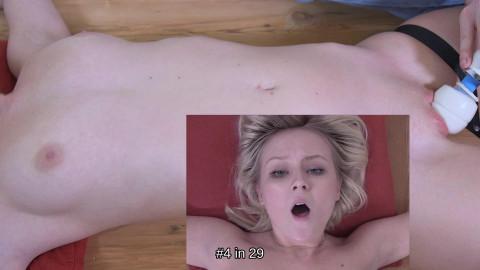 Natalias orgasm struggle