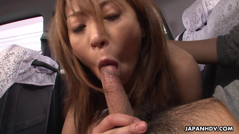 Hot Taxi Driver Jun Kusanagi scene3