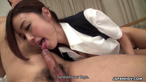 New office lady hana yoshida drilled by her boss