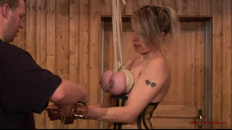 Toaxxx - (tx250) Another Breast Suspension for Tit Slave Eva