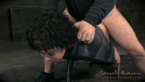SexuallyBroken - Jun 15, 2015 - Mia Austin utterly destroyed by dick and strict bondage