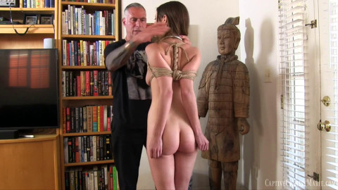 Super restraint bondage, domination and ache for very hawt floozy Full HD 1080p