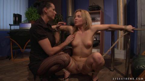Mandy Bright & Salome - Office Slut