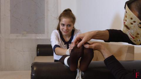 Bdsm Most Popular Nylon feet tickling