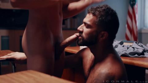 Adam Ramzi copulates Tristan Hunters chocolate hole 1080p