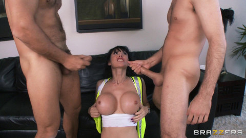 Busty Milf Requires To Finish The Job Is A Little DP Action