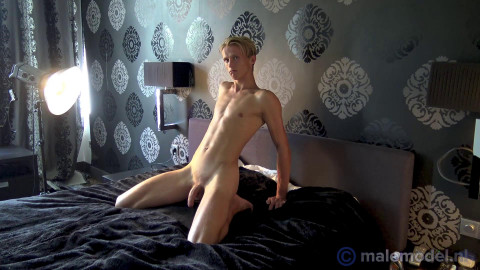 MaleModelNL - Mathijs blonde dutch twink on behind the scenes