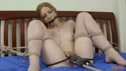 Bedroom Bondage Orgasms