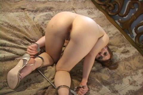 Short segments taken during her bondage session
