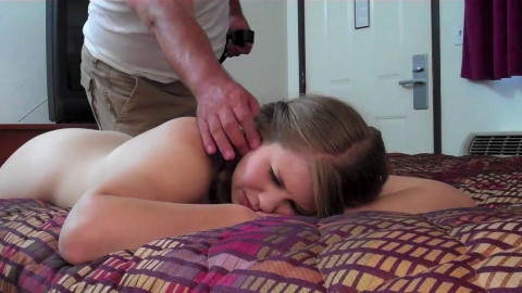 Christy Cutie - Christys Wet Bottom Belt Whipped for Pool time Naughtiness Pt.1