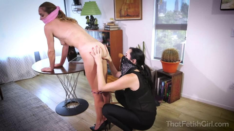 Tight tying, domination and punishment for very lewd wench HD 1080p