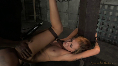 Cole Belt Down, Chained And Roughly Fucked By Big Cock!