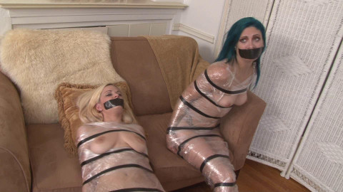 Two Mummified Captives - Loren Chance, Danielle Trixie