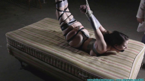 Serenes Bondage Dream Hogtaped