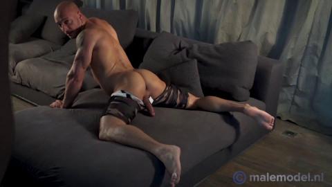 MaleModelNL - Jozef very brawny posing undressed