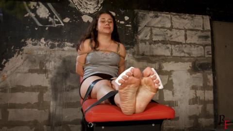 HD Bdsm Sex Videos Ruthless tickling of Tonyas soles