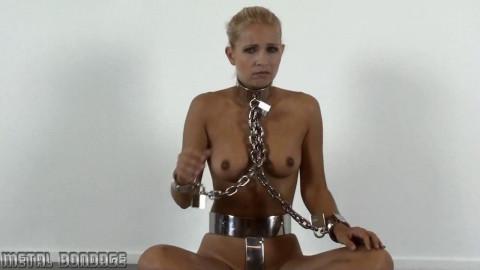 Jenni C in rough metal
