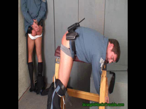 Spanking an Officers Partner - Part 2