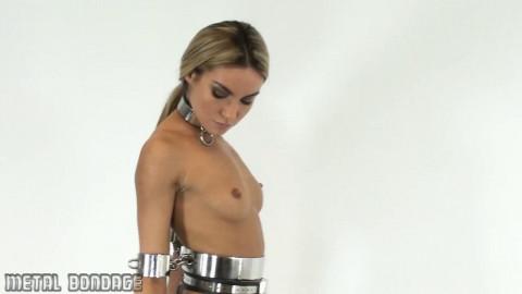 Chastity thong and waist thong