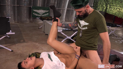 A Naughty Cadet - Joris Leonard and Vincent Landi 1080p