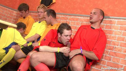 GuysGoCrazy - Blowing the Entire Football Team