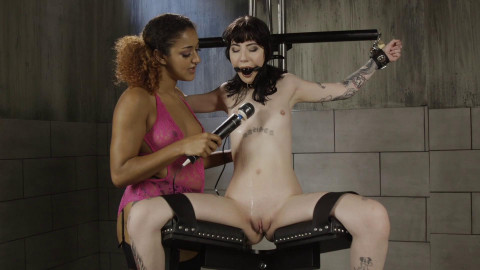 Bound Orgasms and Electric Play