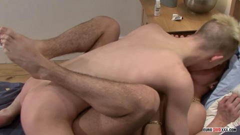 Euro Boy - Hung Luke Gets A Big Cock!