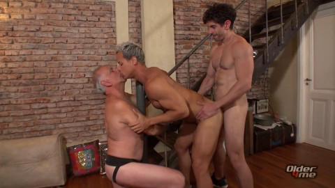 O4M - Tied Dad Sex: Gerardo Mass, Hassan & Victorino