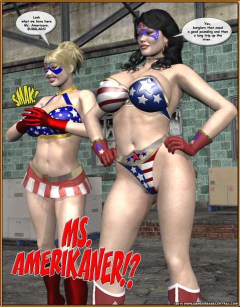 Ms Americana - Bushwacked - by MrX / DBC