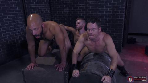 Fistin Alley, Scene 04: Sebastian Keys, Dylan Strokes, Ashley Ryder