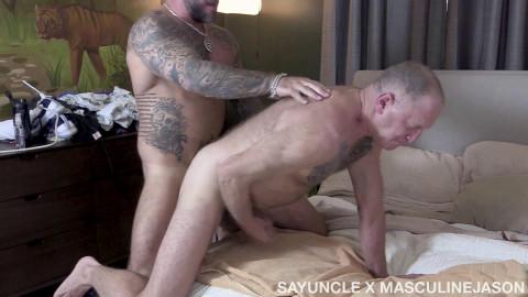 Masculine Jason - My Stepdads Secret