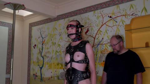 Bondage, spanking and domination for blond sub part 2 Full HD 1080p