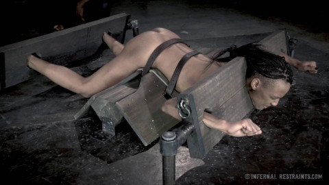 Rough Humiliation & Deep Assfuck For Hot Ebony Slave