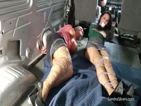 Sandra and Lisa are enjoying bondage