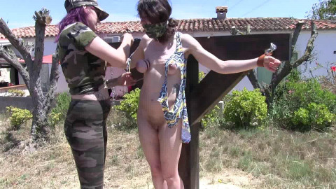 Little Red Girl - Kidnapped and Tit Tortured - Part 1