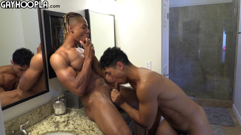 Baron Fucks The Shit Out Of Max With His Big Cock