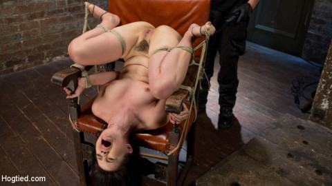 Sweet Yhivi is Decimated in Brutal Bondage, Torment, and Screaming Orgasms!