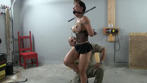 Bondage, wrist and ankle bondage and pain for lascivious wench part 1 HD 1080p