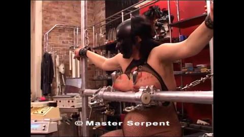 Guest - Hardcore movie scene in the studio Torture Galaxy part 4