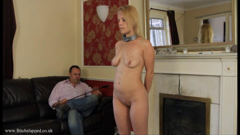 Hard restraint bondage, domination and soreness for sexy blond part 3 HD 1080p