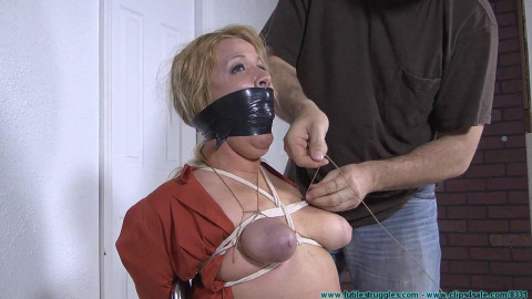 Whitney Explains How an Intruder Hogties Her Tight!